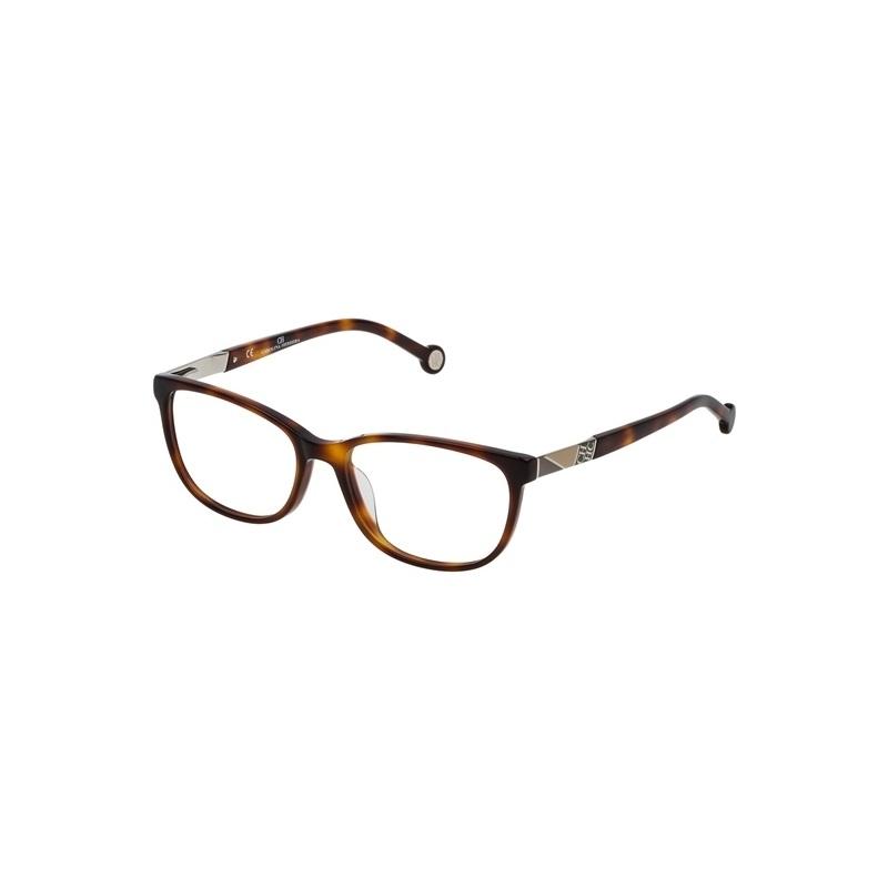 4c72acc5bc15f Carolina Herrera modelo VHE760-0752  Coleção clássica de óculos.