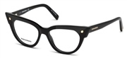 Compre ou amplie a imagem do modelo DSquared2 Eyewear DQ5235-001.