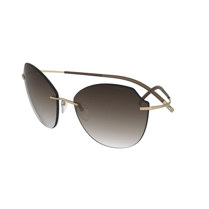 17ac5b28c97fc Silhouette modelo TMA-Icon-8158-8540  Coleção clássica de óculos.